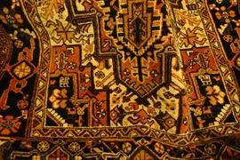 Heriz Persian Hand-woven Rug 9X12