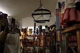 Iron Restaurant Cookware rack, LARGE