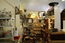 Assorted housewares, dinnerware and other