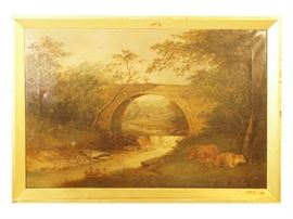 19th c Romantic Landscape