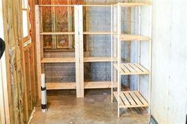 4. Set of Three 3 Shelves