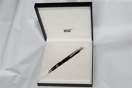 2. Mont Blanc Starwalker Floating Diamond Hundredth Anniversary Pen