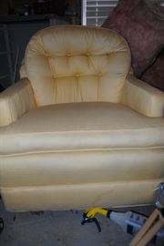 Yellow Ladies Chair