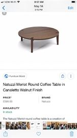 Brand new coffee table $400