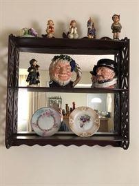 Royal Doulton Toby Mugs, Hummel Figurines