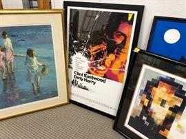 Variety of newer and original art