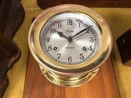 Brass Shipstrike Clock