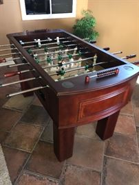 Frontgate Fooseball table  BUY IT NOW $450.00         New is $900.00 plus shipping