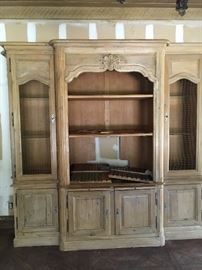 """Gorgeous French Bookcase  (Approx. 94: x 106"""")"""