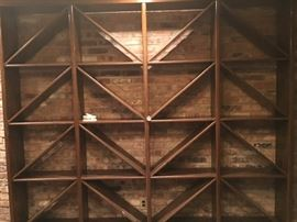 """Oak Wine Rack (90"""" x 104"""")"""