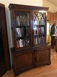 George III period bookcase. Circa 1738- 1820