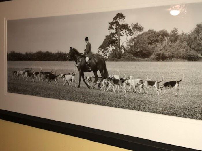 Large framed original photograph by Erica Harris