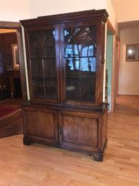 "George III Bookcase  6'10"""" H x 55 1/2"" W 19 1/2"" Deep"
