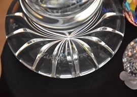 Waterford Master Cutter Crystal Vase, Signed by John McGrath