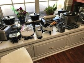 Every small appliance you can imagine!