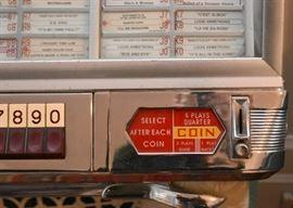 Seeburg 100 Select-O Matic Jukebox with Music - WORKING!