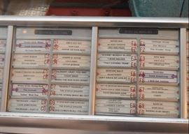 Seeburg 100 Select-O Matic Jukebox with Music - (Louis Armstrong, Marvin Gaye, The Beatles, Johnny Cash, B.B. King, The Staple Singers & More)