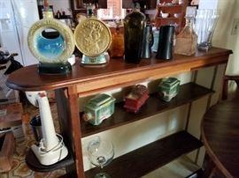 Vintage ceramic barware, stand up mixer