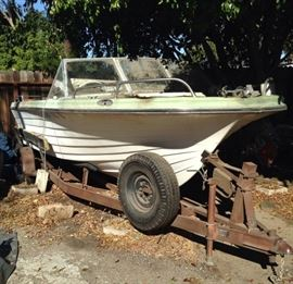 FREE project boat and trailer