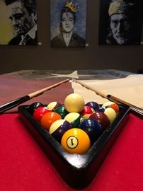 Connelly 8' Billiards 'Scottsdale' Pool Table in a beautiful walnut color with a Texas themed cover.