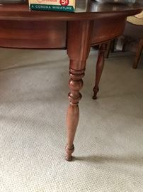 Legs of dining room table