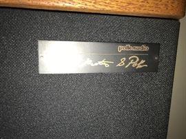 """Pair of Vintage Polk Audio SDA SRS Speakers - 63"""" Tall                                              ==> ONLY $950 OBO"""