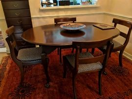 Stickley Dining Table from Colony House Furniture - Has 3 Leaves - Seats 12 - $650 - (Chairs Sold Separately)