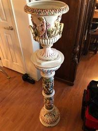 Elegant Italian decor pillar