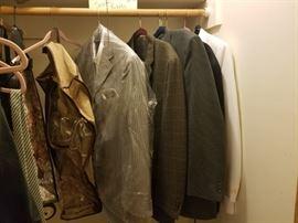 High End Suit : Blazers $15 : Ties