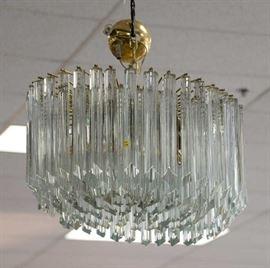 small venini chandelier