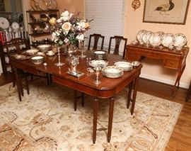 Another view of dining room.