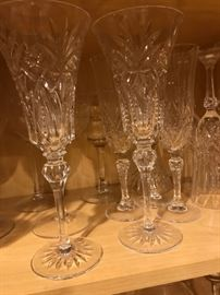Beautiful sets of Crystal Glasses