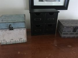 A trio of cute storage boxes!!
