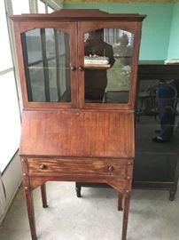 Beautiful 1800's secretary !!!   Rare find.