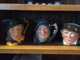 Collectable Toby Mugs