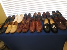 Men's Shoes, Some New, Labels like Cole Haan & Florsheim