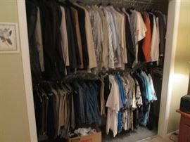 Wonderful Assortment of Men's Clothing