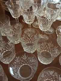 Waterford Glasses and Goblets