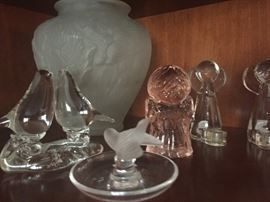 Crystal and Glass Figurines