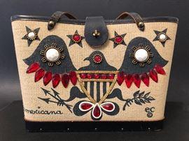 Vintage Enid Collins handbag 'Americana'