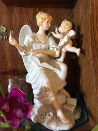 Porcelain Angels Statue
