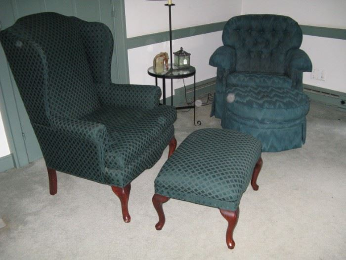 Nice upholstered chairs