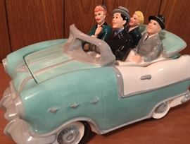 Lucy, Desi, and the gang cookie jar