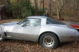 1978 25th anniversary  Edition Corvette