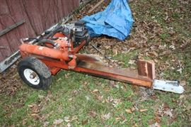 Gas Powered Log Splitter