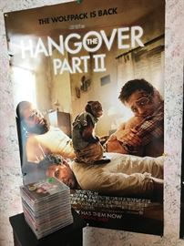 One of many Movie Posters  Straight out of the mailing tube!