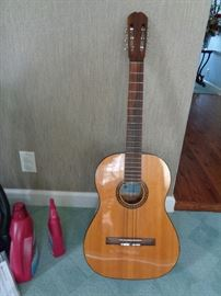 vintage 1962 Epiphone EC-200 Espana Classical Guitar w/case