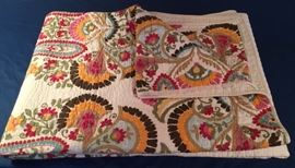 Bed Cover or for warmth this 88x92 Quilt is just in time for the holiday gift giving season.
