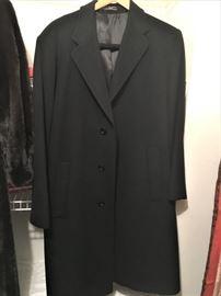 Mens cashmere coat