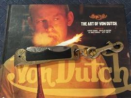 Custom Von Dutch Knife